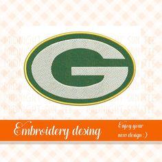 Green Bay Packers logo embroridery designMachine Green Bay Packers Logo, Embroidery Designs, Logos, Etsy, Logo