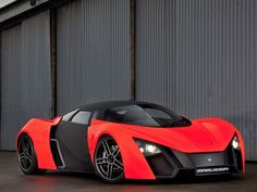 Russian Supercar Marussia