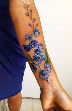 Pretty Watercolor Tattoos That'll Convert Even the Biggest Needlephobes This floral watercolor tattoo is SO pretty.This floral watercolor tattoo is SO pretty. Tatoo Henna, 100 Tattoo, Cover Tattoo, Tattoo You, Tattoo 2017, Libra Tattoo, Tattoo Quotes, Body Art Tattoos, New Tattoos