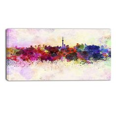 Found it at Wayfair.ca - Toronto Skyline Cityscape Painting Print on Wrapped…