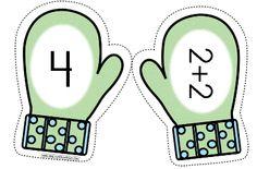 Imprimible para trabajar los números y las primeras operaciones