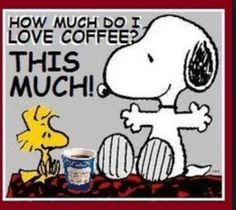 Coffee snoopy