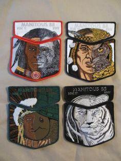 Michigan Boy Scout OA Manitous Lodge 88 NOAC 2012 Four Pocket Sets   eBay