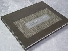 Old Hollywood inspired wedding album. Halston limited edition cover upgrade option for Finao ONE series albums. Shown here in 50 Shades leather with Mushroom frame accent on a vertical artONE album. Wedding Photo Albums, Wedding Album, Wedding Book, Album Design, Box Design, Book Photography, Boudoir Photography, Photo Album Printing, Photo Album Book