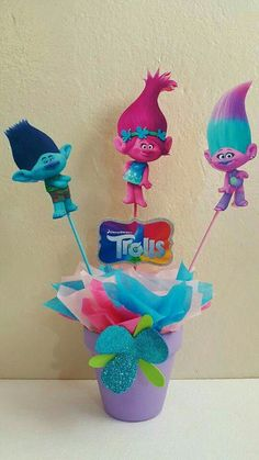 Trolls themed birthday party for kids!