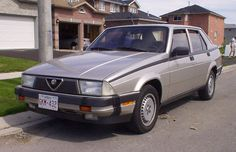 Alfa Romeo Milano:  Alfa's compact executive sedan was, quite simply, crap. It may have been fun for a moment or two, but it was always broken, constantly rusting, and the onboard diagnostic computer was usually overworked. This is probably what killed the brand in the U.S.