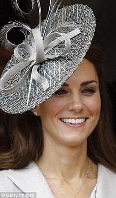 Kate wore this for her first Garter Day celebrations in June 2011. The £800 Philip Treacy ...