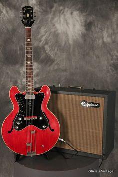 RARE 1963 Epiphone AL CIAOLA The Professional guitar/amplifier combo!!!