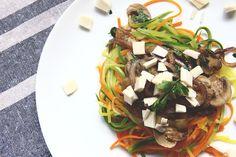 Macarrão tricolor de vegetais | 10 delícias veganas para você cozinhar já