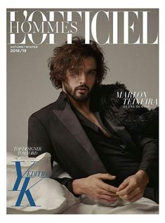 Marlon Teixeira Stars in L'Officiel Hommes Korea Fall Winter 2018 Issue Marlon Teixeira, Cover Male, Korea, Emperors New Clothes, Jon Kortajarena, The Fashionisto, Best Portraits, Hairy Chest, Celebrity Dads