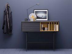 Solid wood console table with drawers AURA By TREKU design Angel Martí, Enrique Delamo Nest Design, Diy Design, Interior Design, Urban Decor, Design Furniture, Cabinet Design, Contemporary Furniture, Console Table, Sideboard