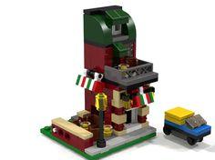 Lego MOC Mini Ice Cream Parlor