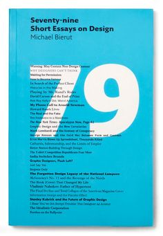 The new paperback edition of Seventy-nine Short Essays on Design by Michael Bierut