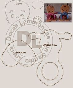 molde porta bombom para lembrança de chá de bebê ou maternidade
