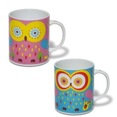 Owl Mug Cool Set Of 2, $24, now featured on Fab.