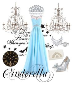 """""""Cinderella at the Ball """" by marietommo14 on Polyvore featuring Currey & Company, Bling Jewelry and Uttermost"""