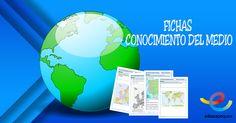 Descarga las Fichas con más de 60 ejercicios de conocimiento del medio para sexto de primaria, niños y niñas de 11-12 años. Geografía e Historia