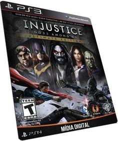 Injustice: Gods Among Us Ultimate Edition PS3 PSN JOGO DIGITAL PLAYSTATION STORE