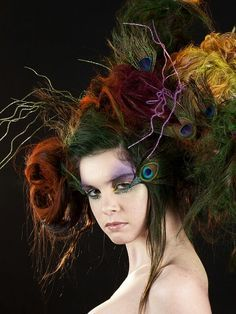 costume hair fantasy - Google Search