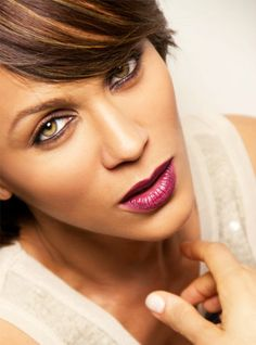 Nicole Ari Parker pretty light colored eyes
