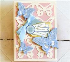 Anna's Garden Cards and Embellishments