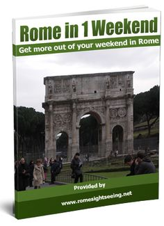 Free E-book: Rome in a Weekend