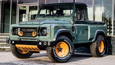 Land Rover Defender - Khan 2.2 | Cool Material