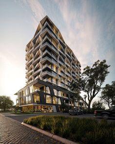 Modern Architecture Melbourne sky lofts // 601 lt collins street, melbourne // client: urbis
