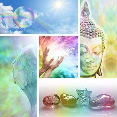 Healing Buddha Collage