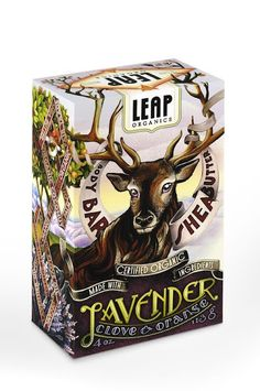 This is packaging for soap- Imagine how much this stands out compared to other soap packaging. Definitely eye-catching!