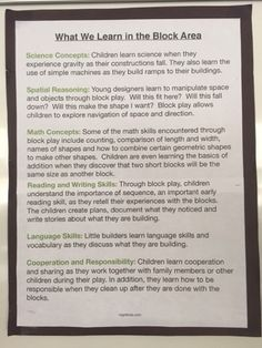 Myers' Kindergarten: Creating an Environment that Teaches… Play Based Learning, Learning Through Play, Learning Centers, Early Learning, Kids Learning, Early Education, Early Childhood Education, Learning Stories Examples, Preschool Classroom