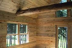 Image result for knotty pine cladding