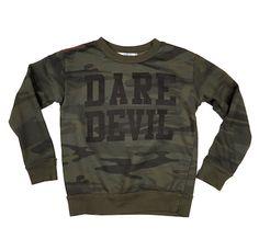 Joah Love Dare Devil Sweatshirt in Spruce