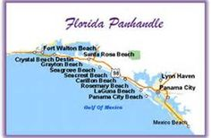 Map Of Florida Panhandle Islands