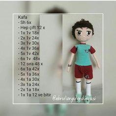 Tarif Sahibi 👉 @mintos_kulaklar 🙏 #amigurumi #buketbebek #buketdoll #amigurumidoll Crochet Doll Pattern, Crochet Dolls, Crochet Patterns, Popular Christmas Gifts, Boy Doll, Kids Videos, S Girls, Amigurumi Doll, Toys For Boys