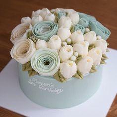 - 남자아기 돌 케이크 사랑스러운 민트&화이트 컬러의 플라워케이크입니다:) . . #flowercake #buttercream #cake #buttercreamcake #dessert #tulip #flower #.... Instagram web viewer online, Discover the Most Popular Photos and Videos on Yooying.