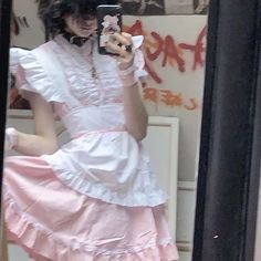 Pixie No Instagram Should I Put My Link To My Tiktok In My Bio Cottagecore Lovecore Cutseyaest In 2021 Maid Outfit Alternative Outfits Maid Dress