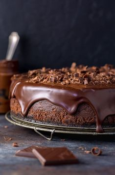 Thick, rich and dangerously decadent. If you're looking for the perfect chocolate cheesecake, look no further! This dessert is a show stopper! Cookies are my jam, but cheesecake is my…View Post Best Chocolate Cheesecake, Chocolate Desserts, Cheesecake Desserts, Chocolate Ganache, Best Baked Cheesecake Recipe, Coconut Cheesecake, Chocolate Day, Homemade Chocolate, Vegan Chocolate