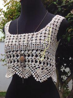 Pretta Crochet: Top                                                       …