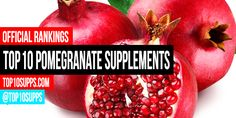 We've ranked the best pomegranate supplements you can buy right now. These top 10 pomegranate products are the highest rated and best reviewed online.