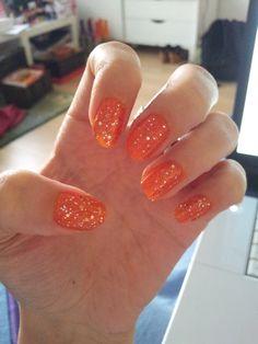 Nail art. Glitter