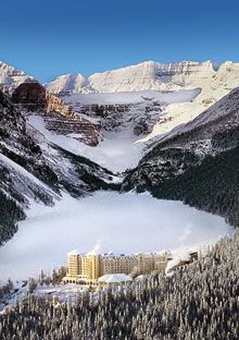 "Chateau at Lake Louise, Lake Louise, Alberta, Canada.  This is my ""Happy Place.""  We spent a glorious week there."