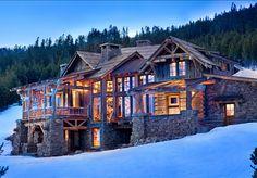 Rustic Ski Lodge - Home Bunch - An Interior Design & Luxury Homes Blog