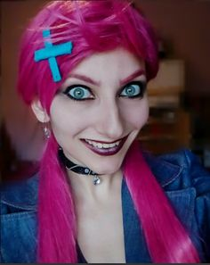 Slayer Jinx (League of Legends) make up by MartyCos-Art