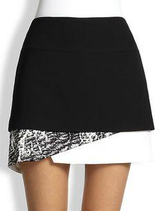 Helmut Lang skirt - mini skirts on redsoledmomma.com