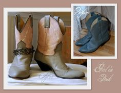 chalk painted boots tutorial