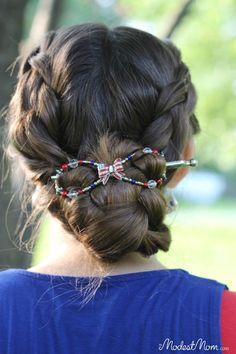 Summer Hair Tips - Liberty Bow flex clip from LIlla Rose
