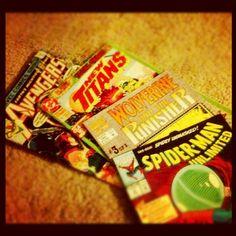 Got me some comic books today!!!!  - @foxymama923- #webstagram