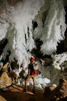 Lechuguilla Cave. Carlsbad Caverns National Park, New Mexico. We did not see this part of the cave... We will have to go back, some day.