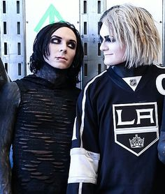 ricky horror and devin sola  motionless in white